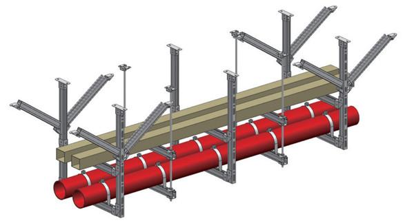 地铁支吊架产品使用中的长处与弱点