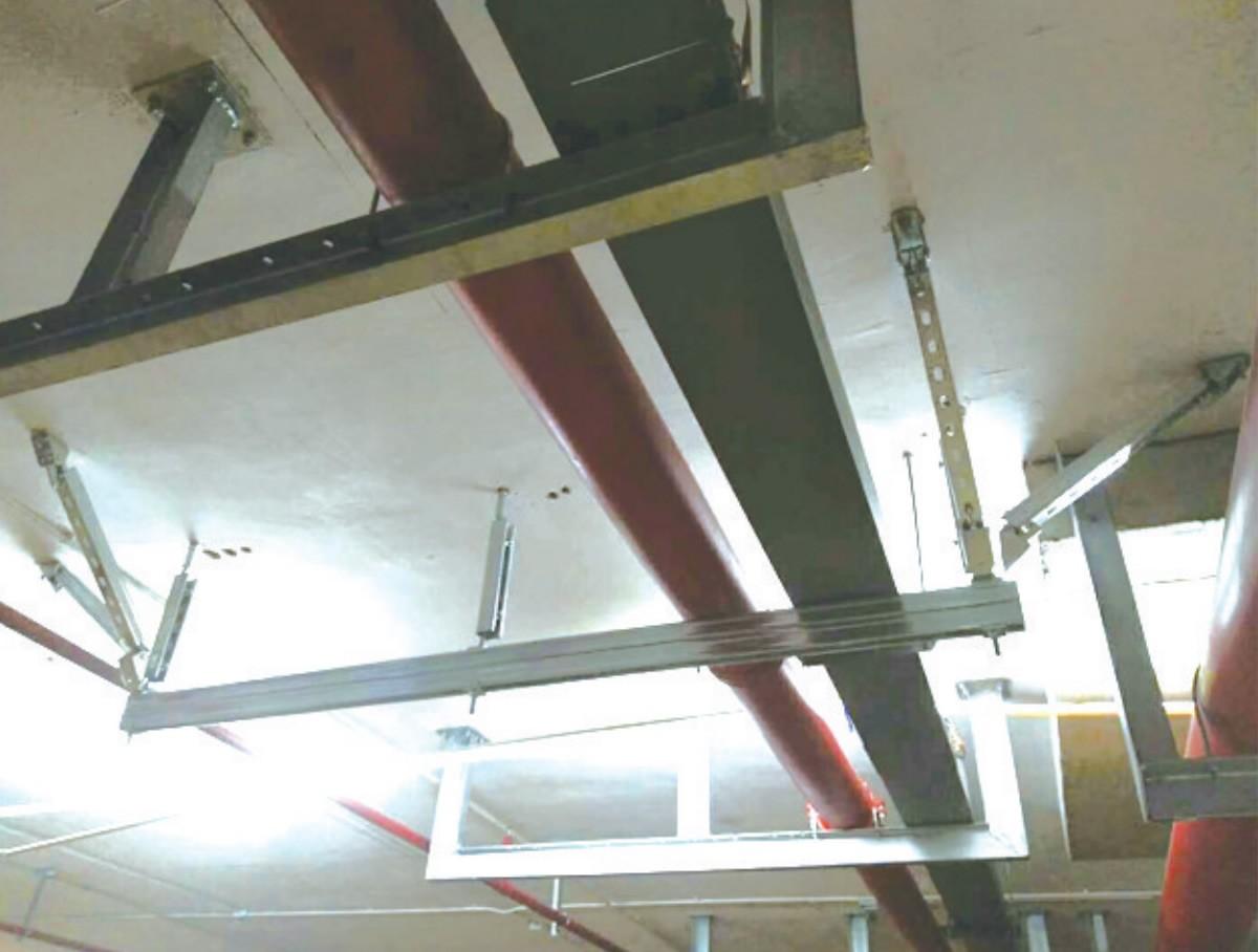 管廊支吊架安装操作注意事项